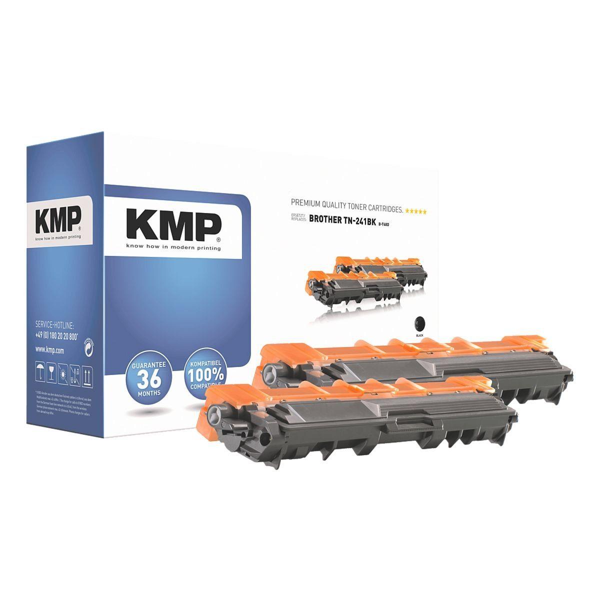 KMP 2er-Pack Toner ersetzt Brother »TN-241BK«