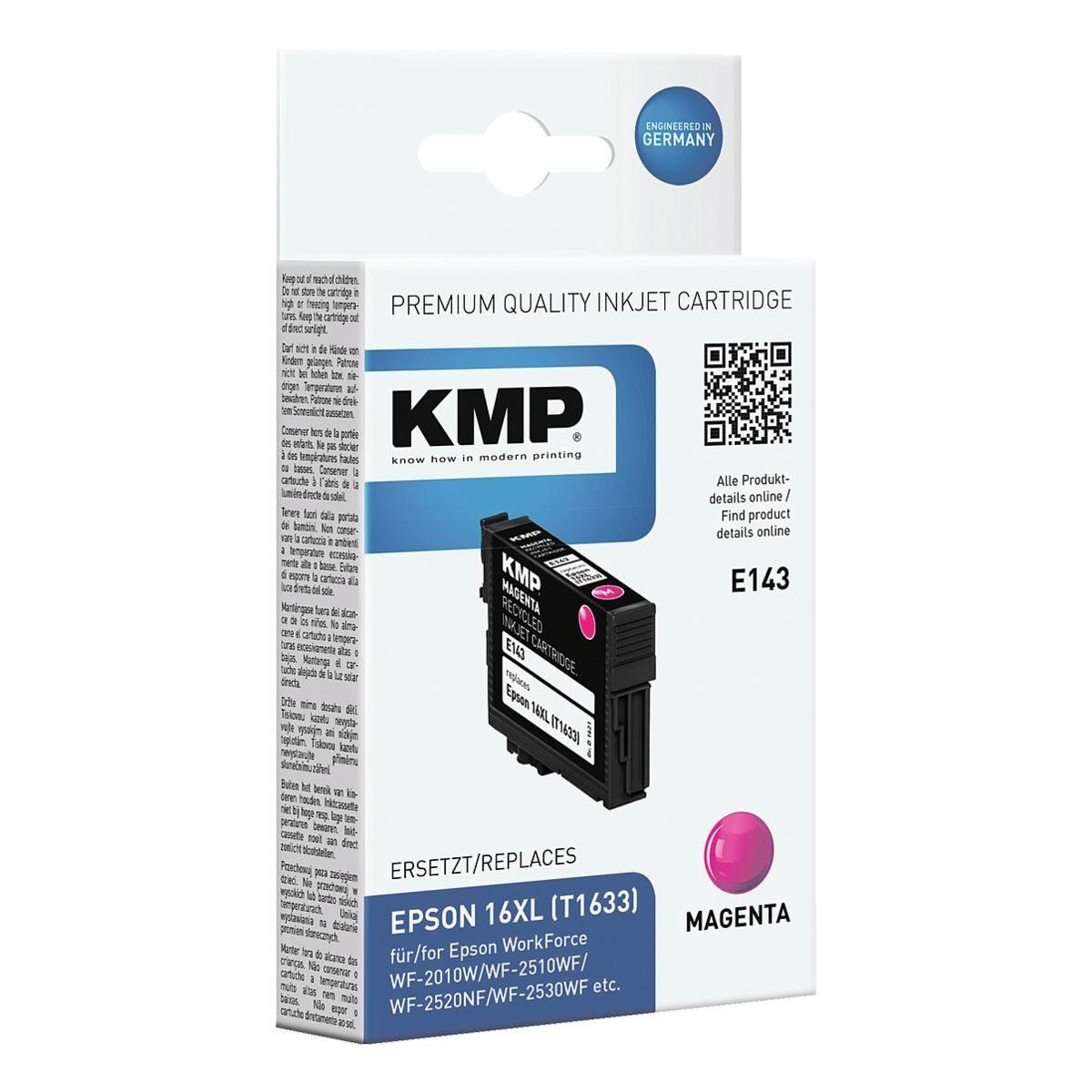 KMP Tintenpatrone ersetzt Epson »T1633XL«
