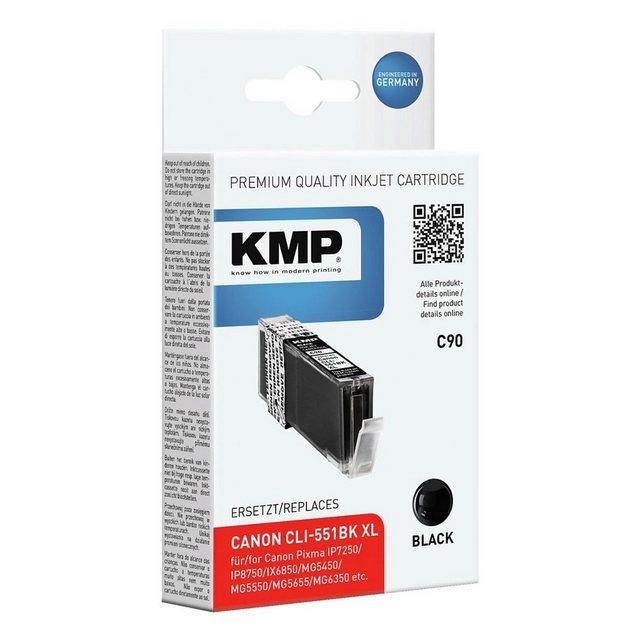 Druckerpatronen, Toner - KMP Tintenpatrone ersetzt Canon »CLI 551BK XL«  - Onlineshop OTTO