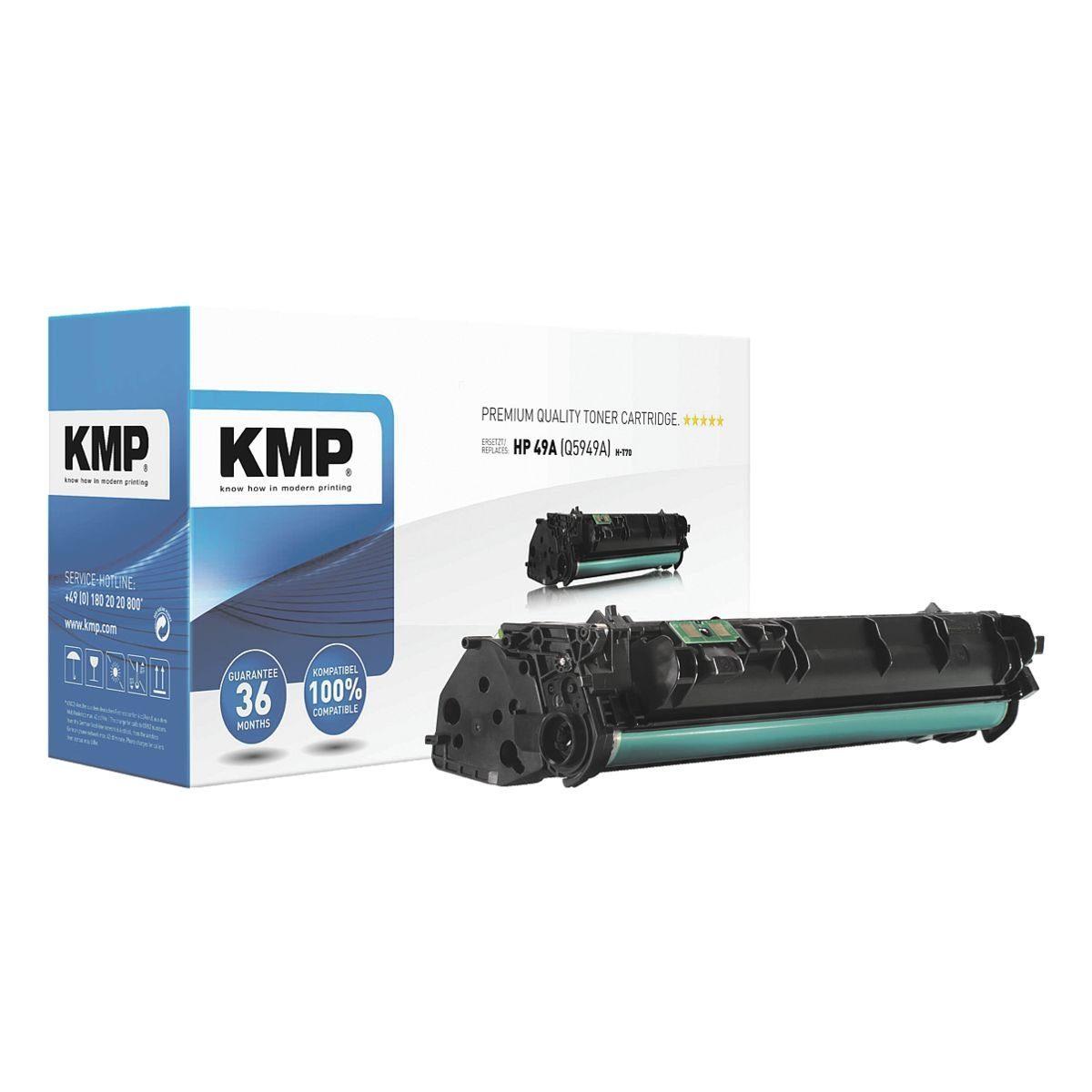 KMP Toner ersetzt HP »Q5949A« 49A