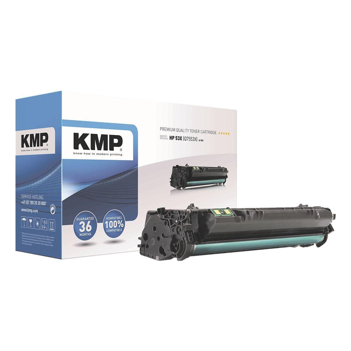 KMP Toner ersetzt HP »Q7553X« 53X