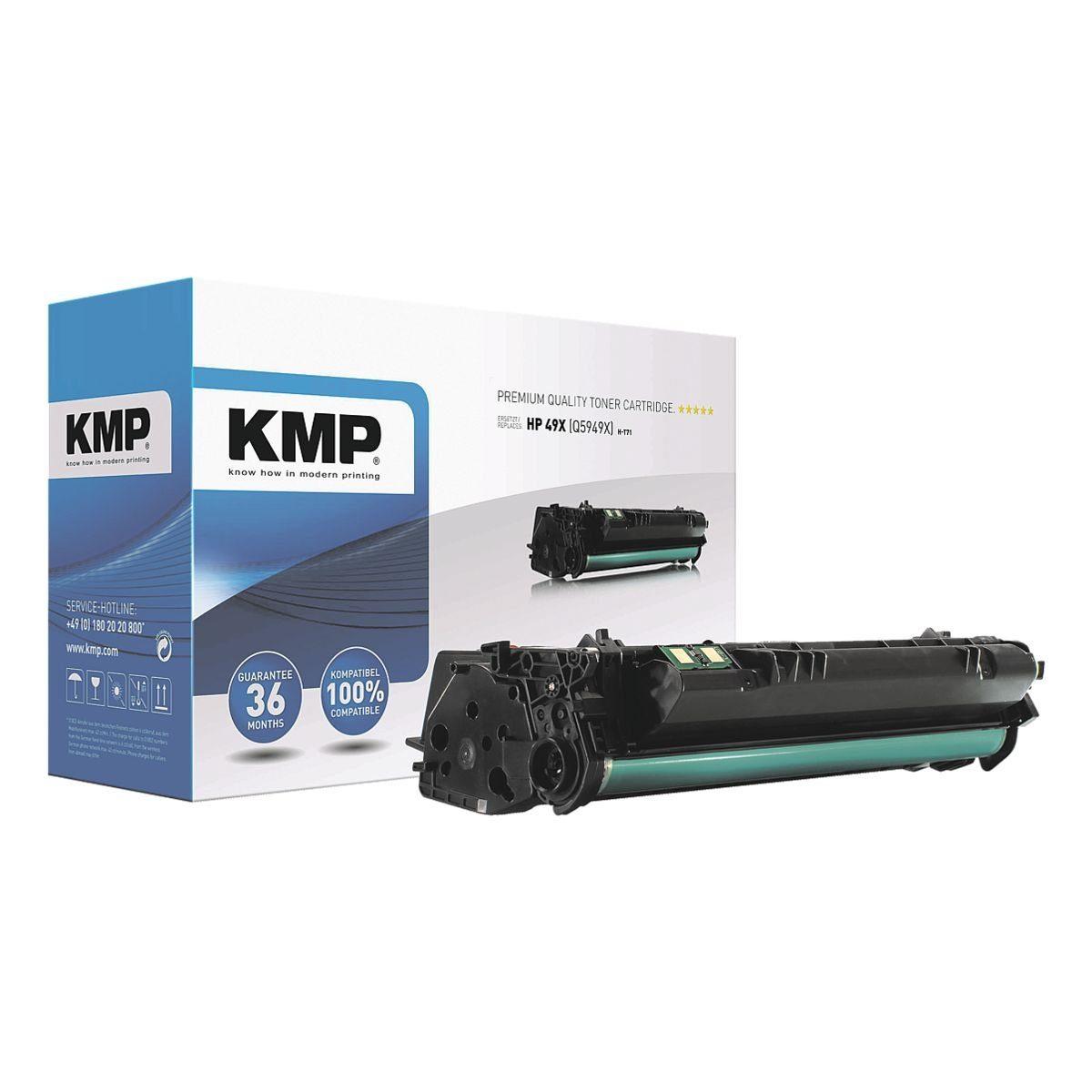 KMP Toner ersetzt HP »Q5949X« 49X