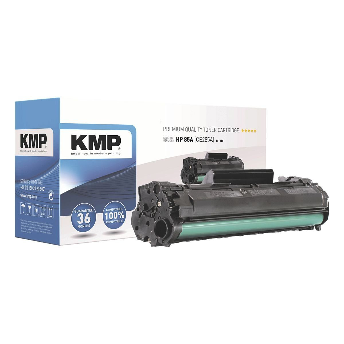 KMP Toner ersetzt HP »CE285X« 85X