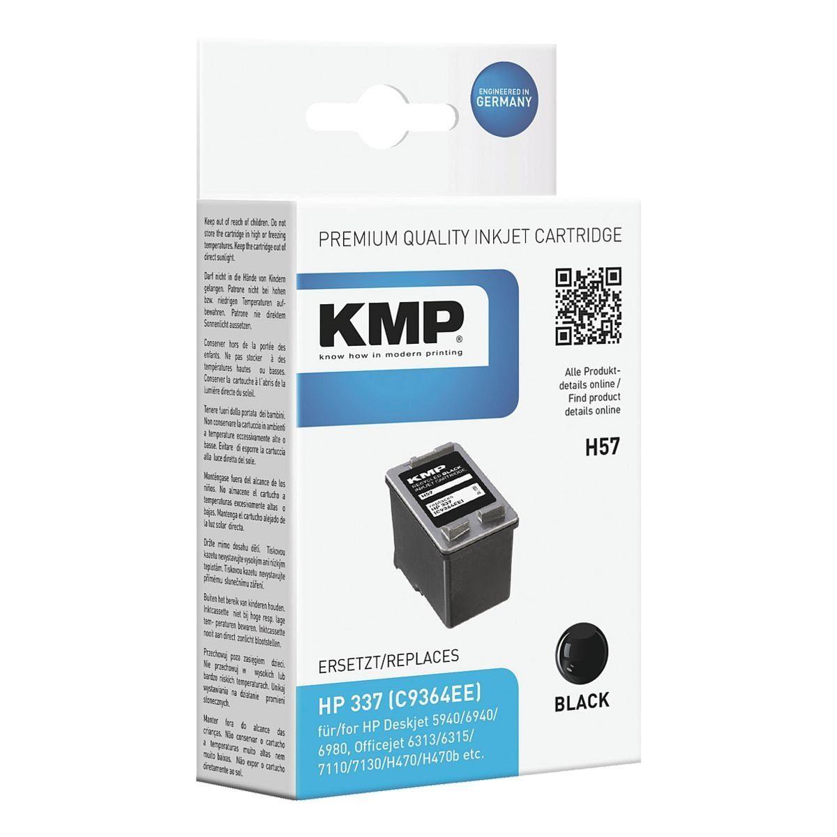 KMP Tintenpatrone ersetzt HP »C9364EE« Nr. 337