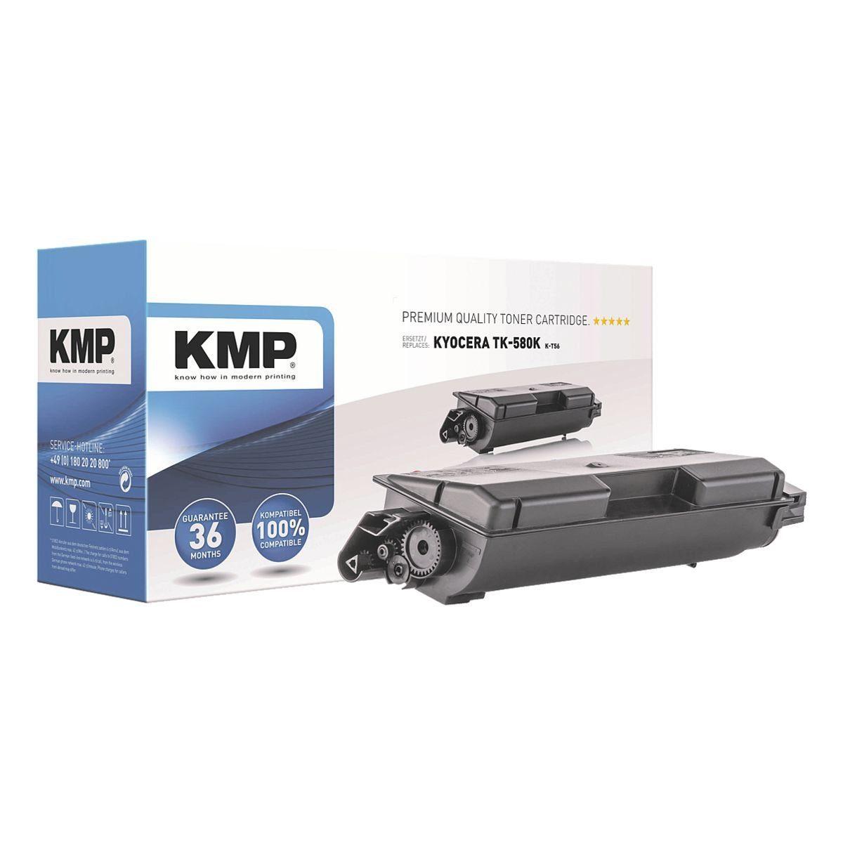KMP Tonerpatrone ersetzt Kyocera »TK-580K XXL«