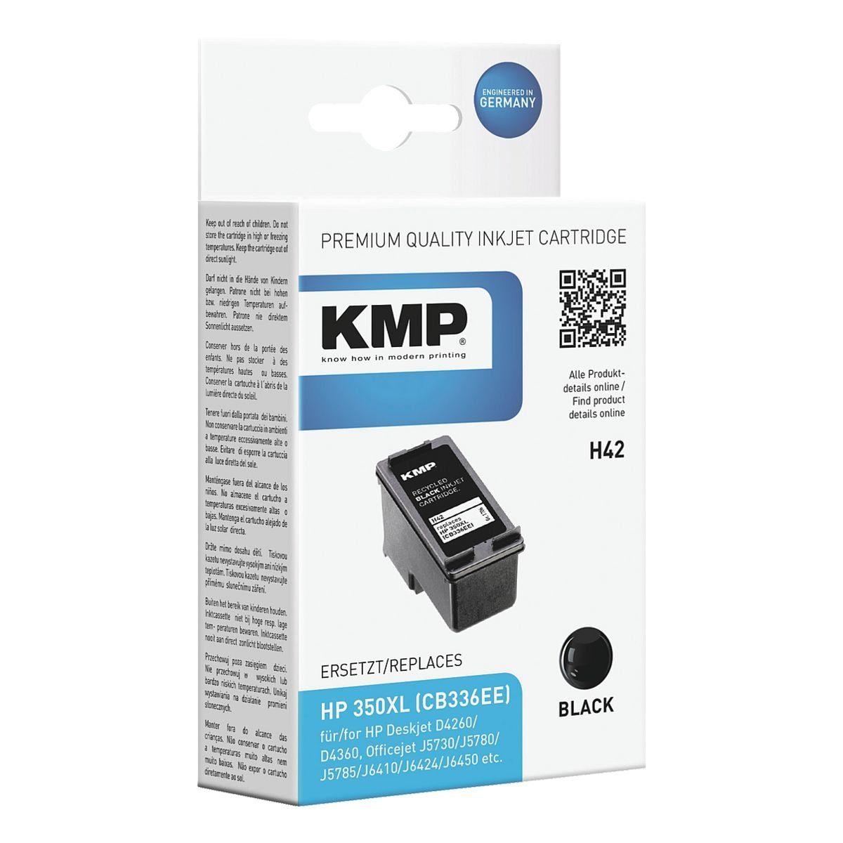 KMP Tintenpatrone ersetzt HP »CB336EE« Nr. 350XL