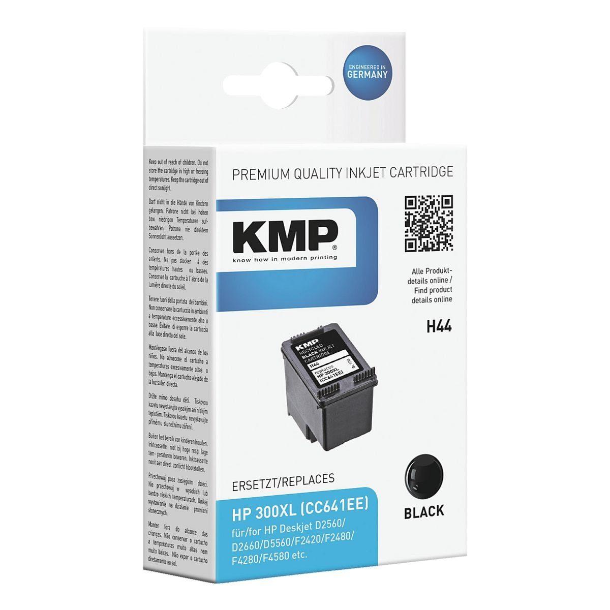 KMP Tintenpatrone ersetzt Hewlett Packards »CC641EE« Nr...