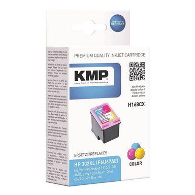 KMP Tintenpatrone ersetzt HP »F6U67AE« Nr. 302 XL cyan...