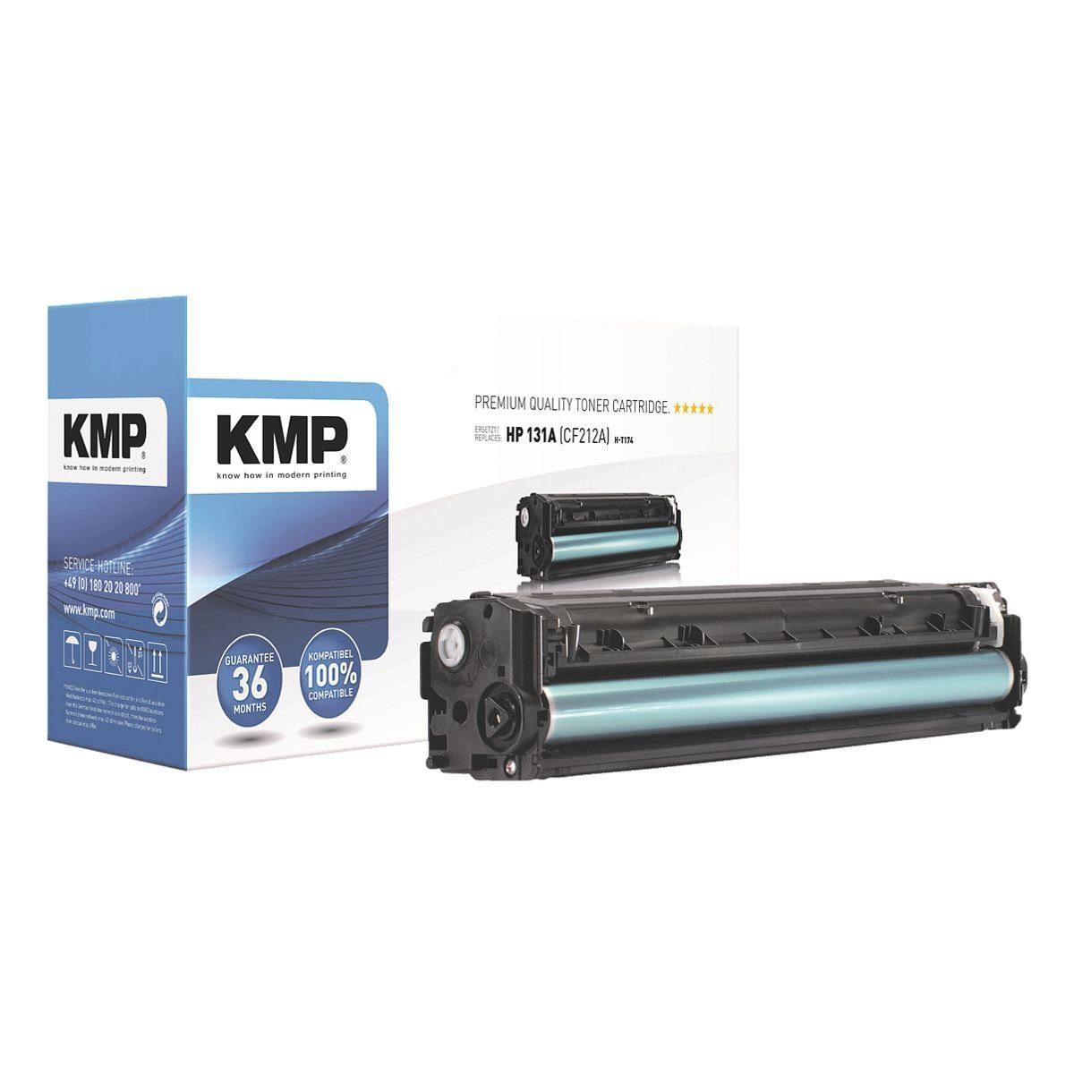 KMP Toner ersetzt HP »CF212A Nr. 131A«