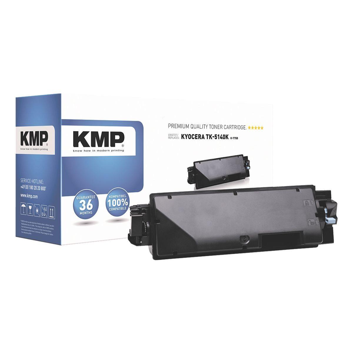 KMP Toner ersetzt Kyocera »TK-5140K«