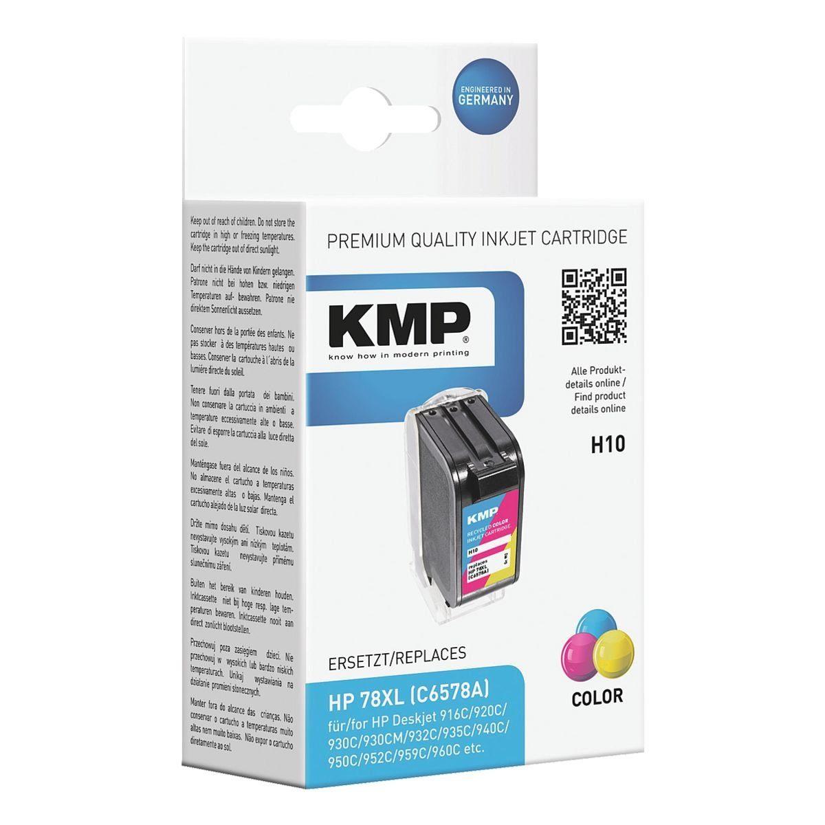 KMP Tintenpatrone ersetzt HP »C6578D« Nr. 78