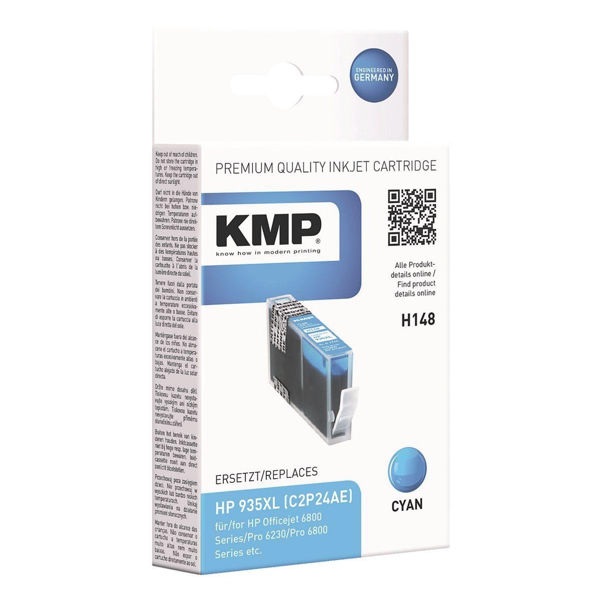 KMP Tintenpatrone ersetzt HP »C2P24AE« Nr. 935 XL