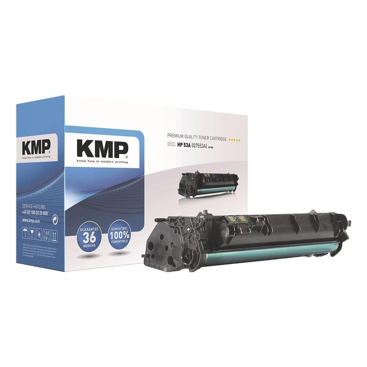 KMP Toner ersetzt HP »Q7553A« 53A