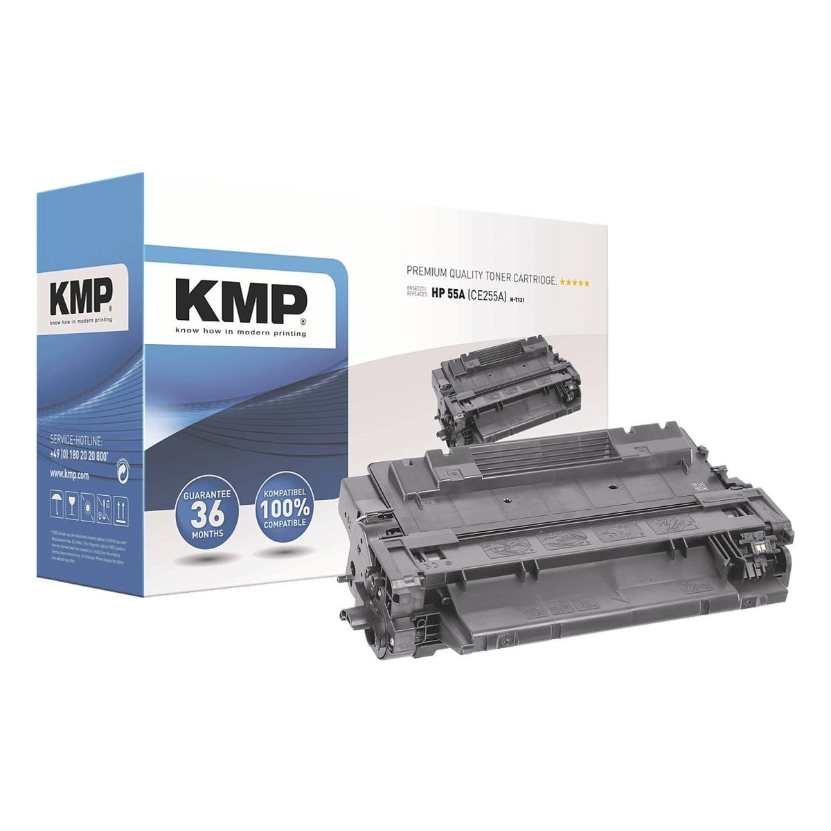 KMP Toner ersetzt HP »CE255A« 55A