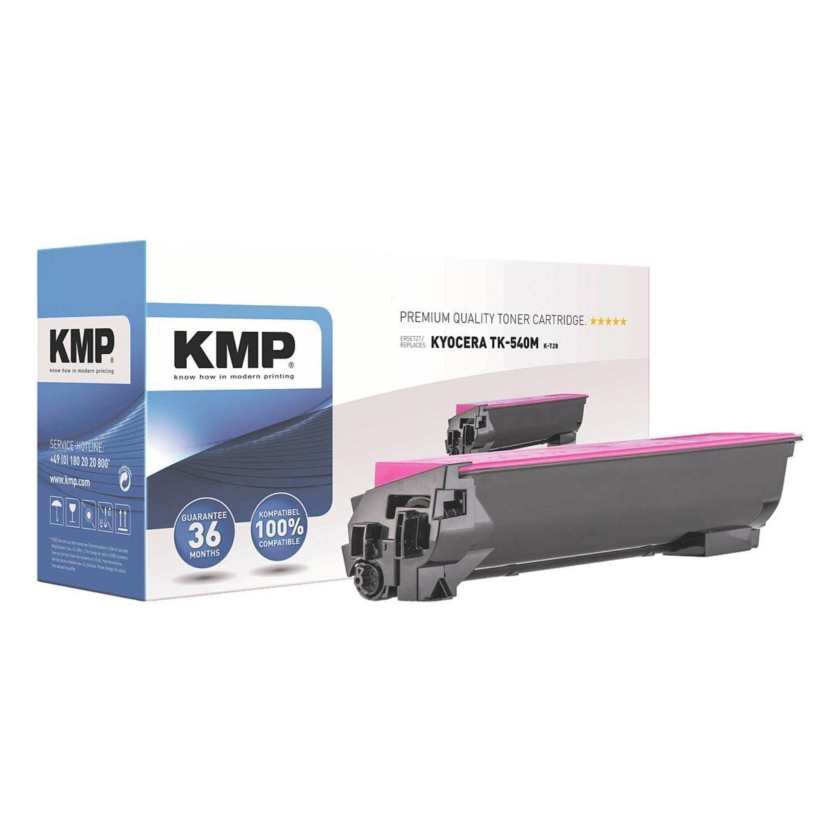 KMP Toner ersetzt Kyocera »TK-540M«