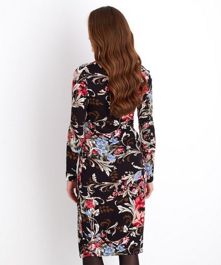 Joe Browns Druckkleid Joe Browns Women's Long Sleeved Floral Wrap Dress