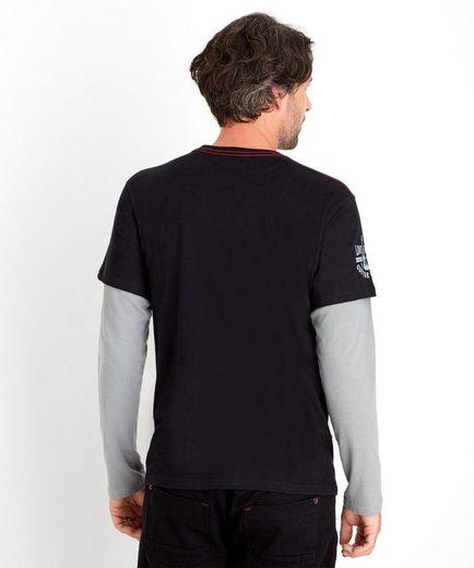 Joe Browns 2-in-1-Pullover Joe Browns Men's Long sleeved top with colourful graphic print, Mit langen Ärmeln