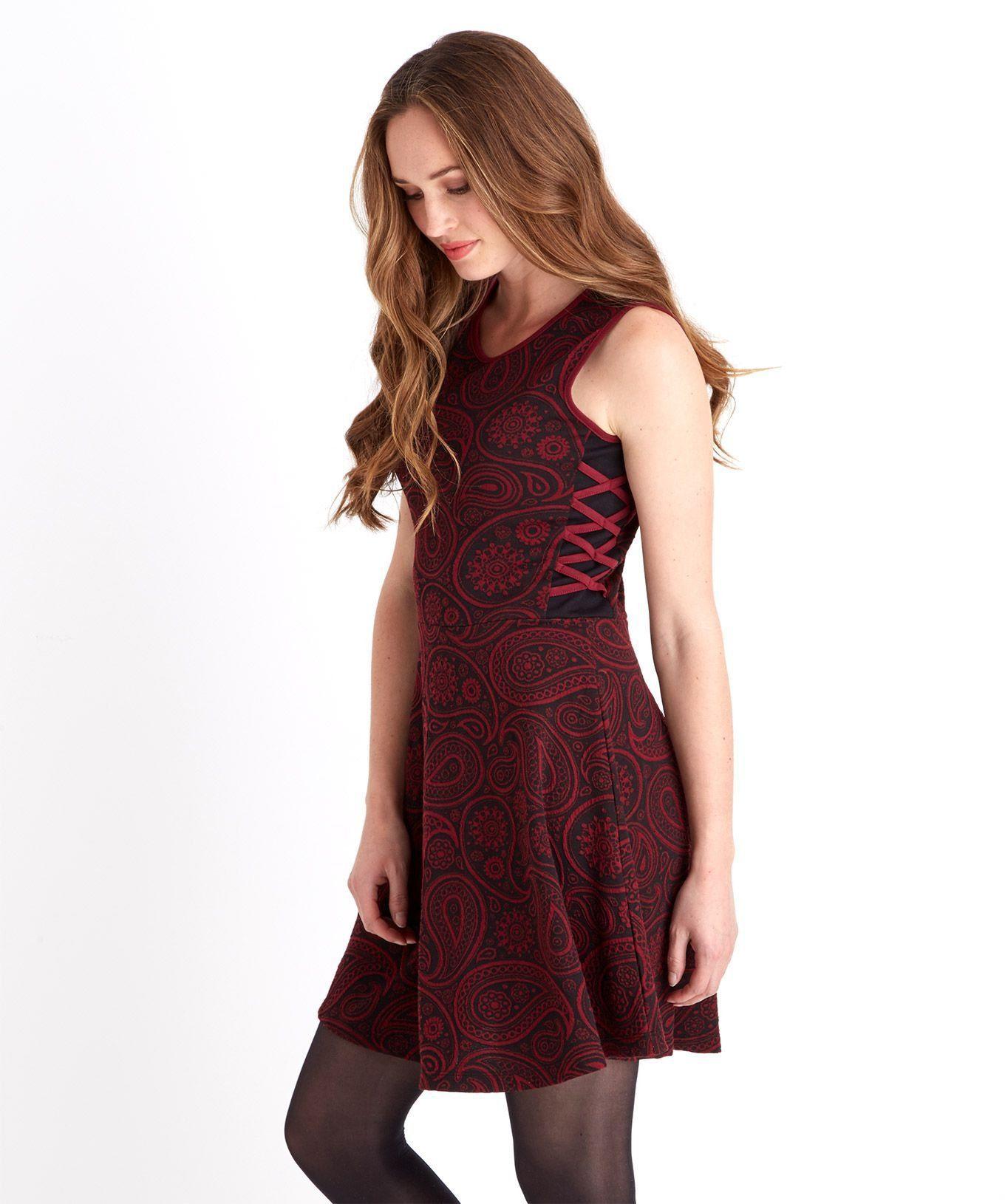 """Joe Browns Druckkleid »Ã""""rmelloses Kleid im Skater-Stil von Joe Browns für Damen«"""