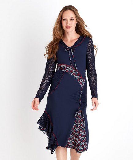 Joe Browns Druckkleid Joe Browns Women's Long Sleeved Fitted Dress with contrast pattern detail