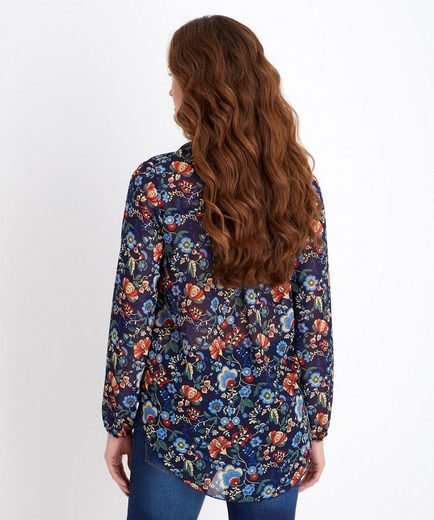 Joe Browns Hemdbluse Joe Browns Women's Oversized Long Sleeve Floral Wrap Blouse