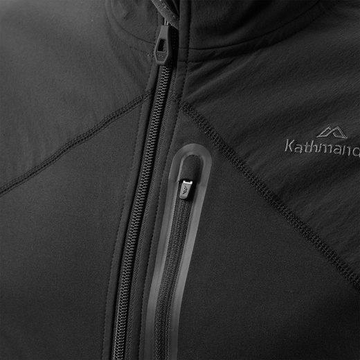 Kathmandu Atmungsaktive Softshell-Fleecejacke für Herren Escarpar v2