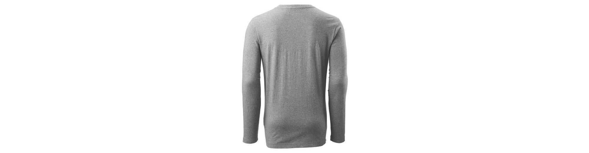 Footaction Neue Stile Kathmandu Langarmshirt mit Aufdruck für Herren Verkauf Wahl Ost Veröffentlichungstermine Erschwinglich Zu Verkaufen AFPJ3Gc8f