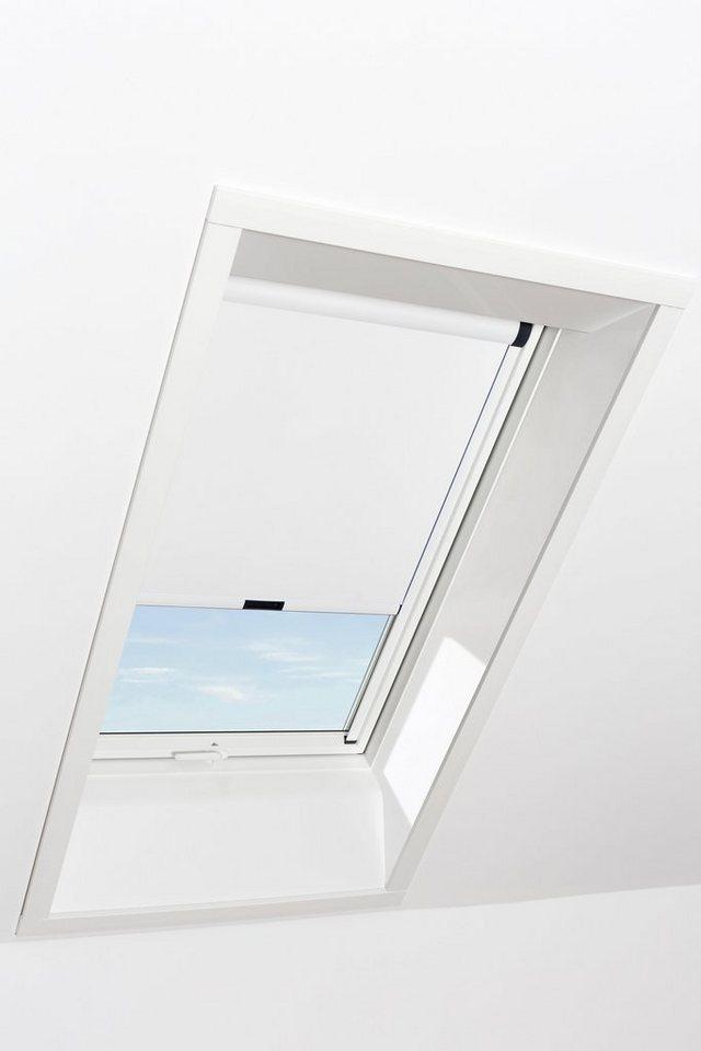 RORO Verdunkelungsrollo »Typ VERW714«, BxL: 74x140 cm, weiß | Baumarkt > Modernisieren und Baün > Fenster | Weiß | RORO Türen & Fenster