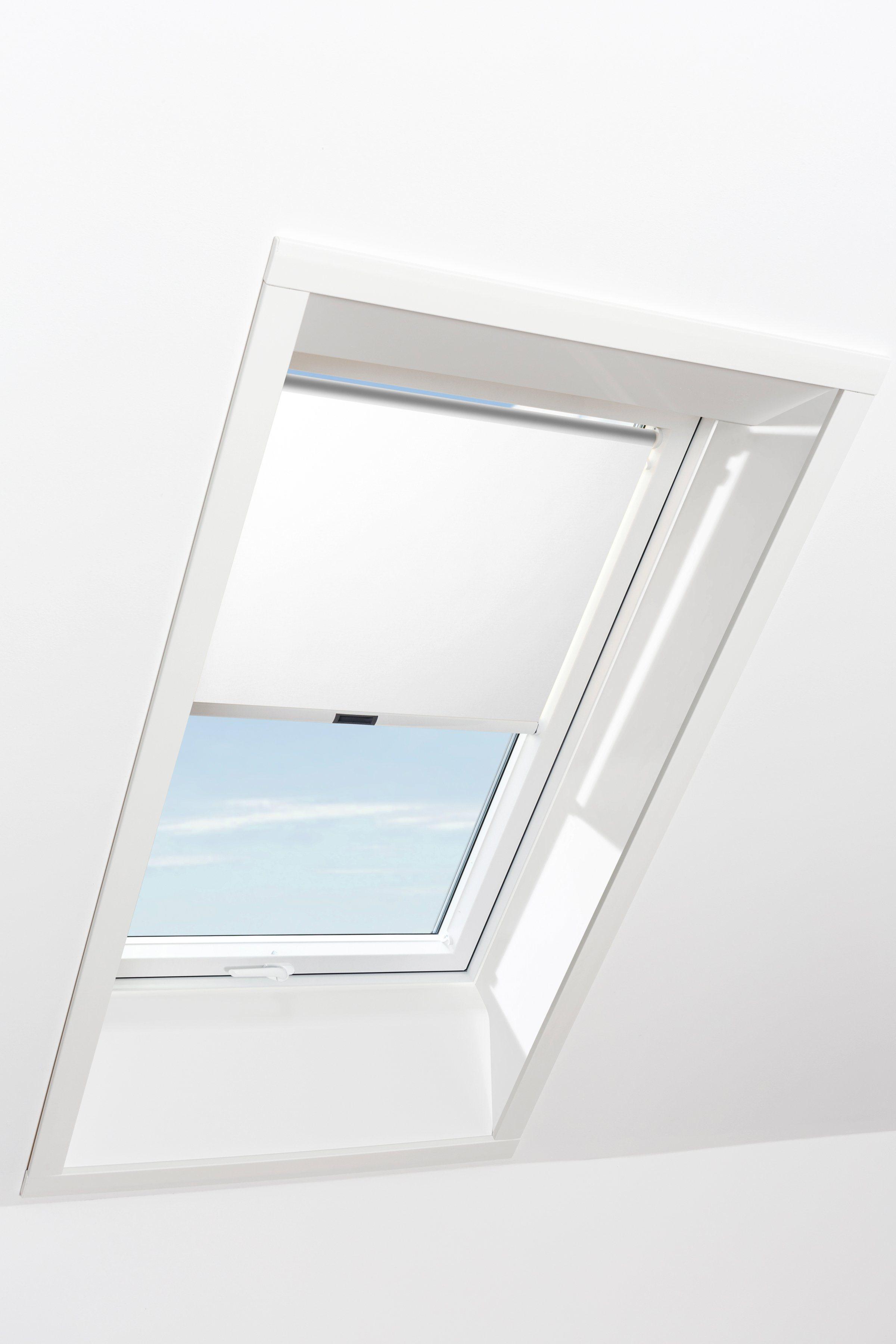 RORO Sichtschutzrollo »Typ SIRW1111«, BxL: 114x118 cm, weiß | Garten > Zäune und Sichtschutz | RORO