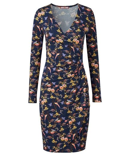 Joe Browns Druckkleid Joe Browns Women's Long Sleeved Floral Jersey Wrap Dress