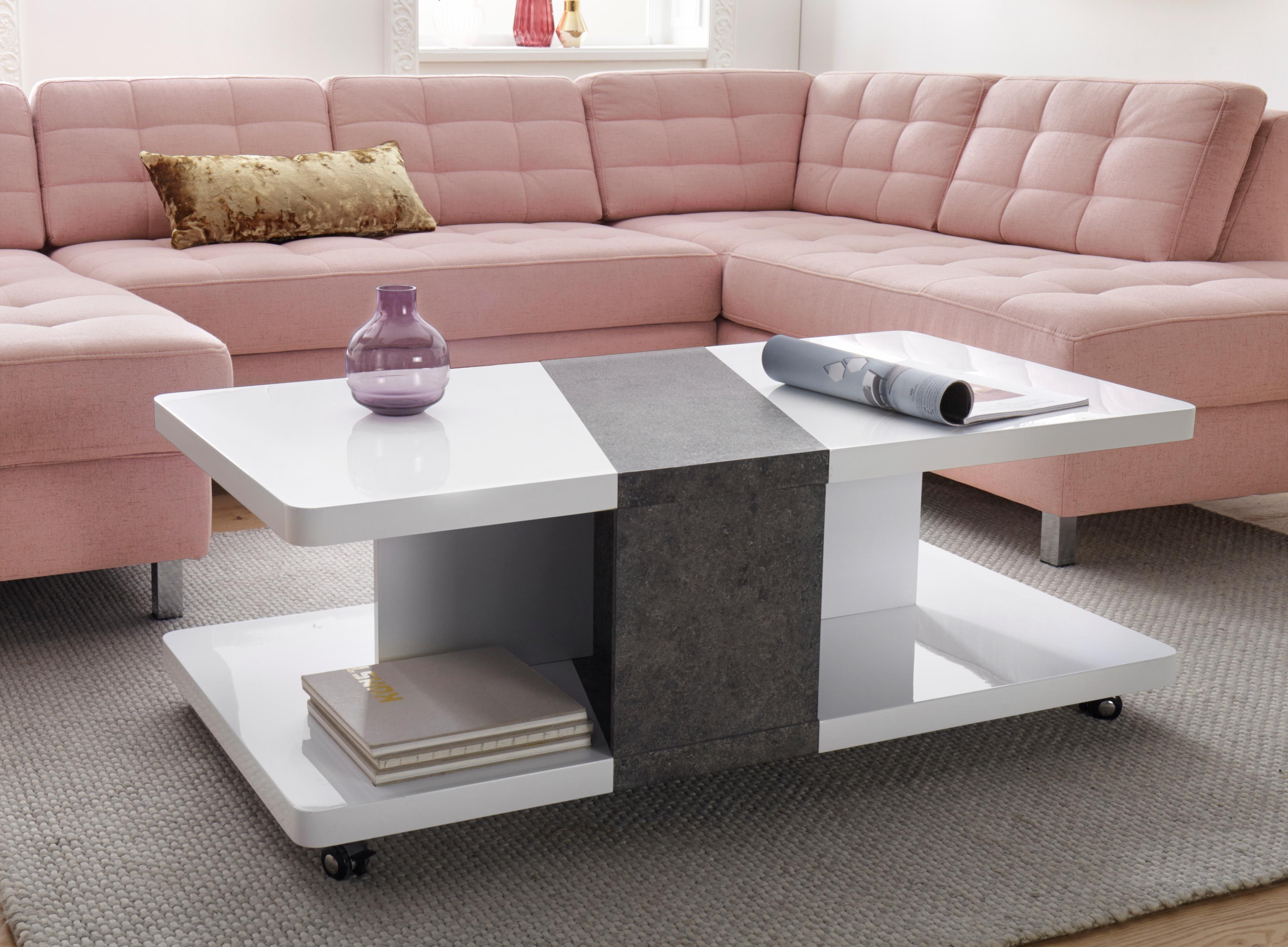 couchtisch mit rollen preisvergleich die besten angebote online kaufen. Black Bedroom Furniture Sets. Home Design Ideas