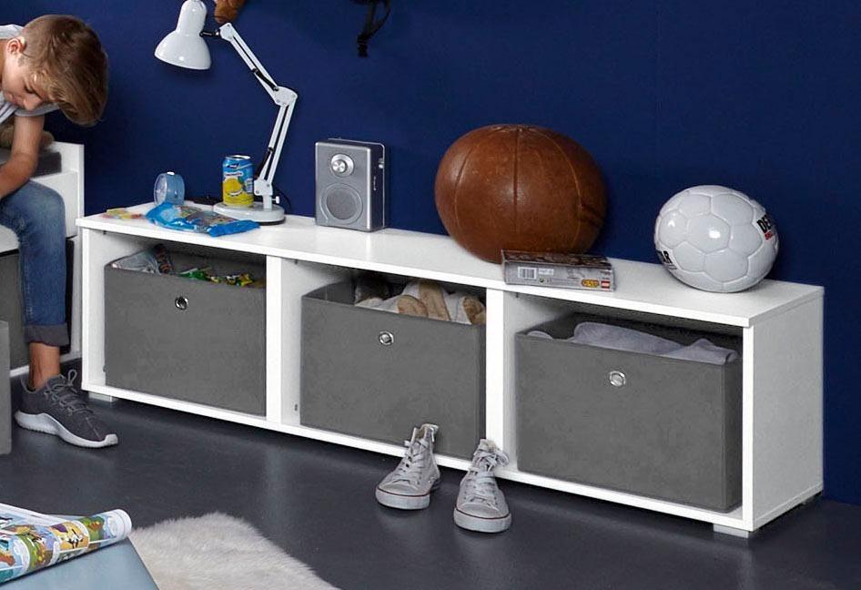 rauch pack s regal inkl stauraumboxen winterhude. Black Bedroom Furniture Sets. Home Design Ideas