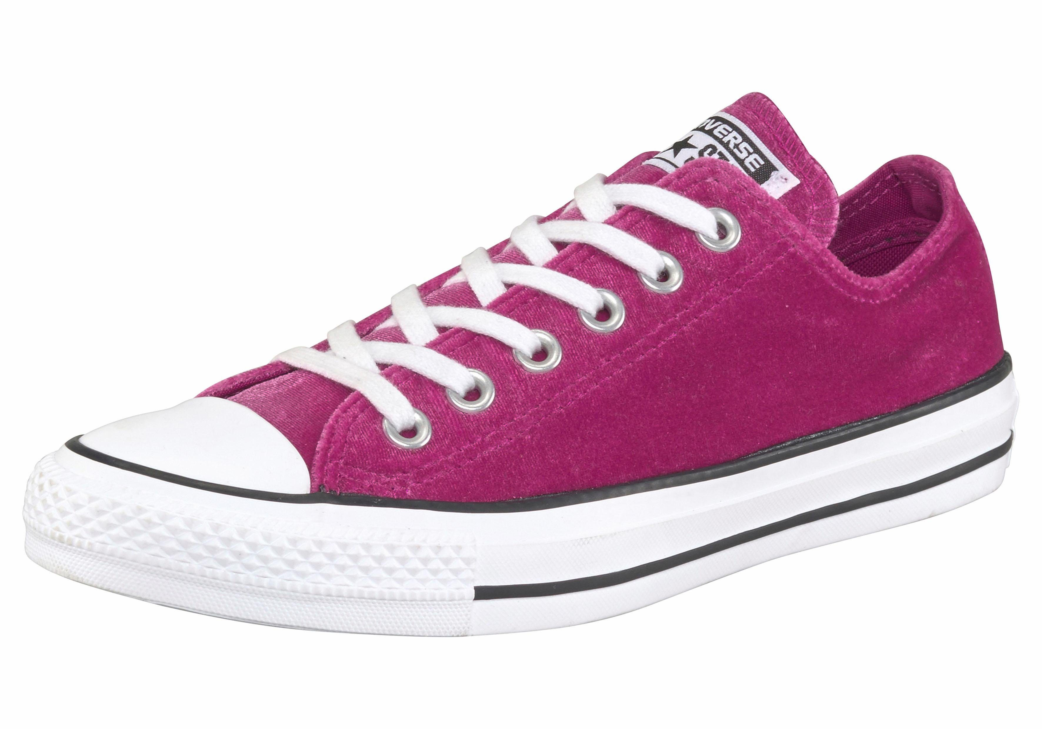 Converse Chuck Taylor All Star Ox Sneaker, Samt  pink