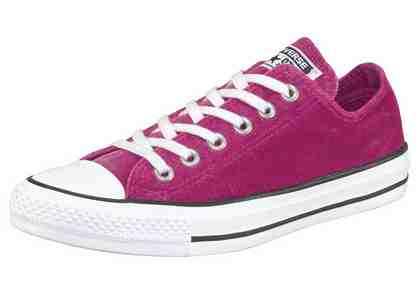 Converse »Chuck Taylor All Star Ox« Sneaker Samt