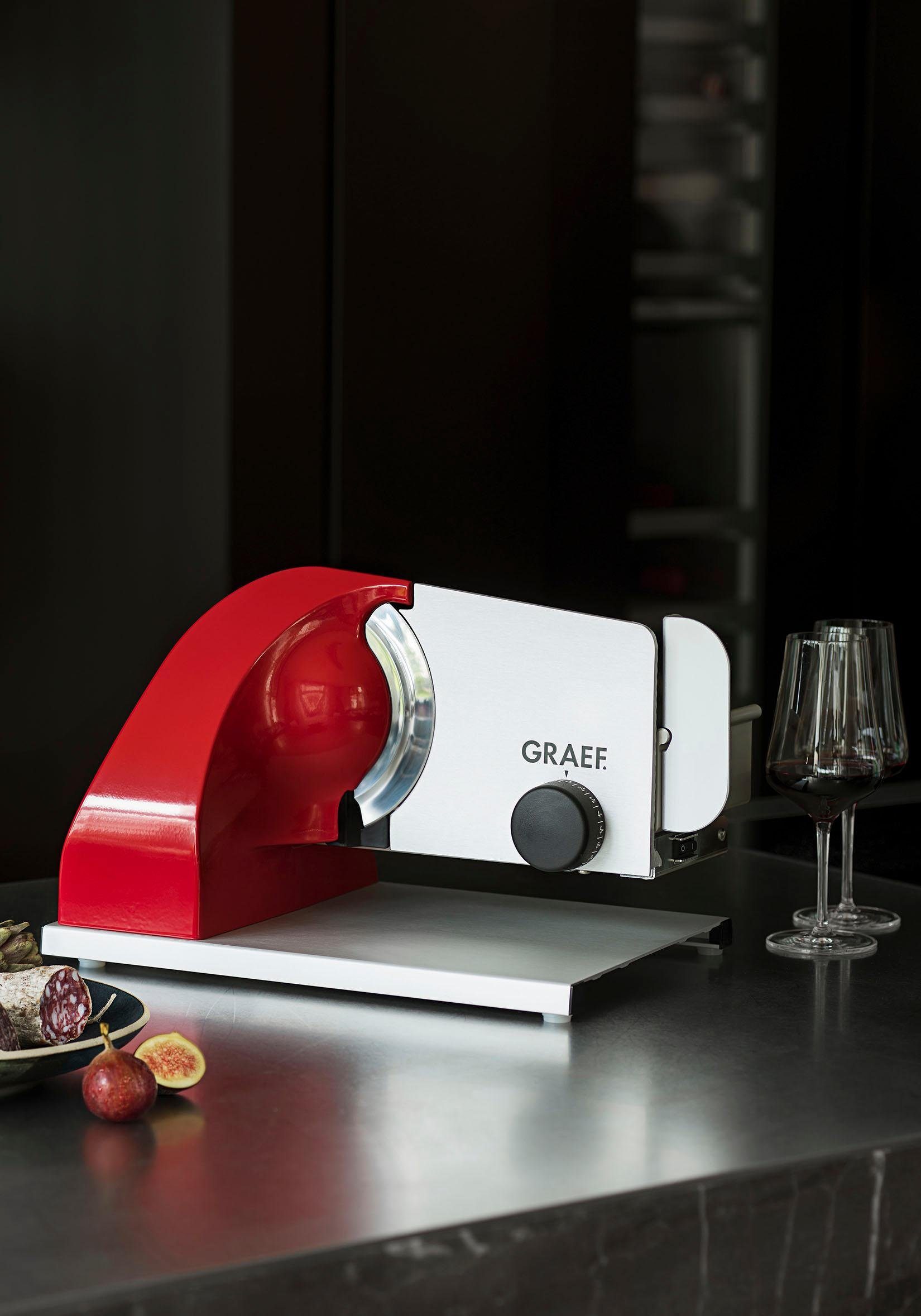 Gebr. Graef GmbH & Co. KG Allesschneider Sliced Kitchen SKS 903 (SKS903EU)