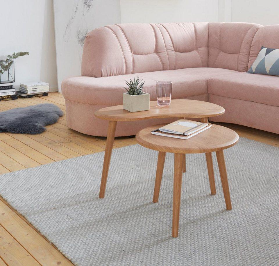 Home affaire couchtisch set set bestehend aus 2 tischen for Couchtisch set