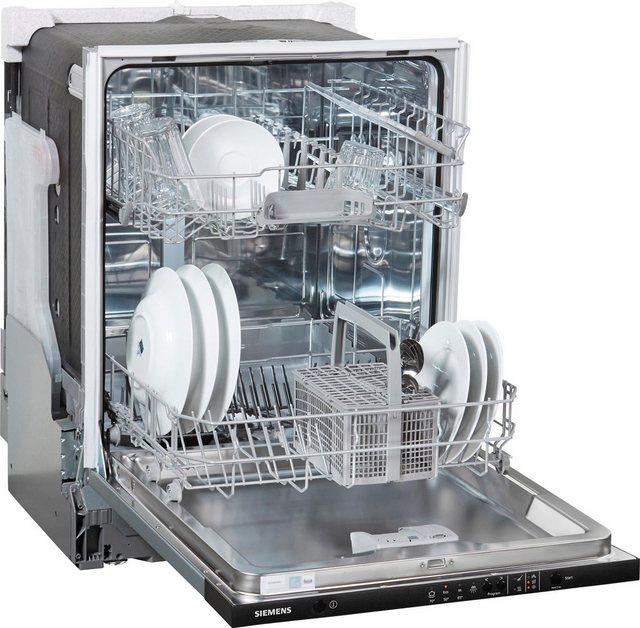 Küchengroßgeräte - SIEMENS integrierbarer Geschirrspüler iQ100, SX614X00AE, 11,7 l, 12 Maßgedecke  - Onlineshop OTTO