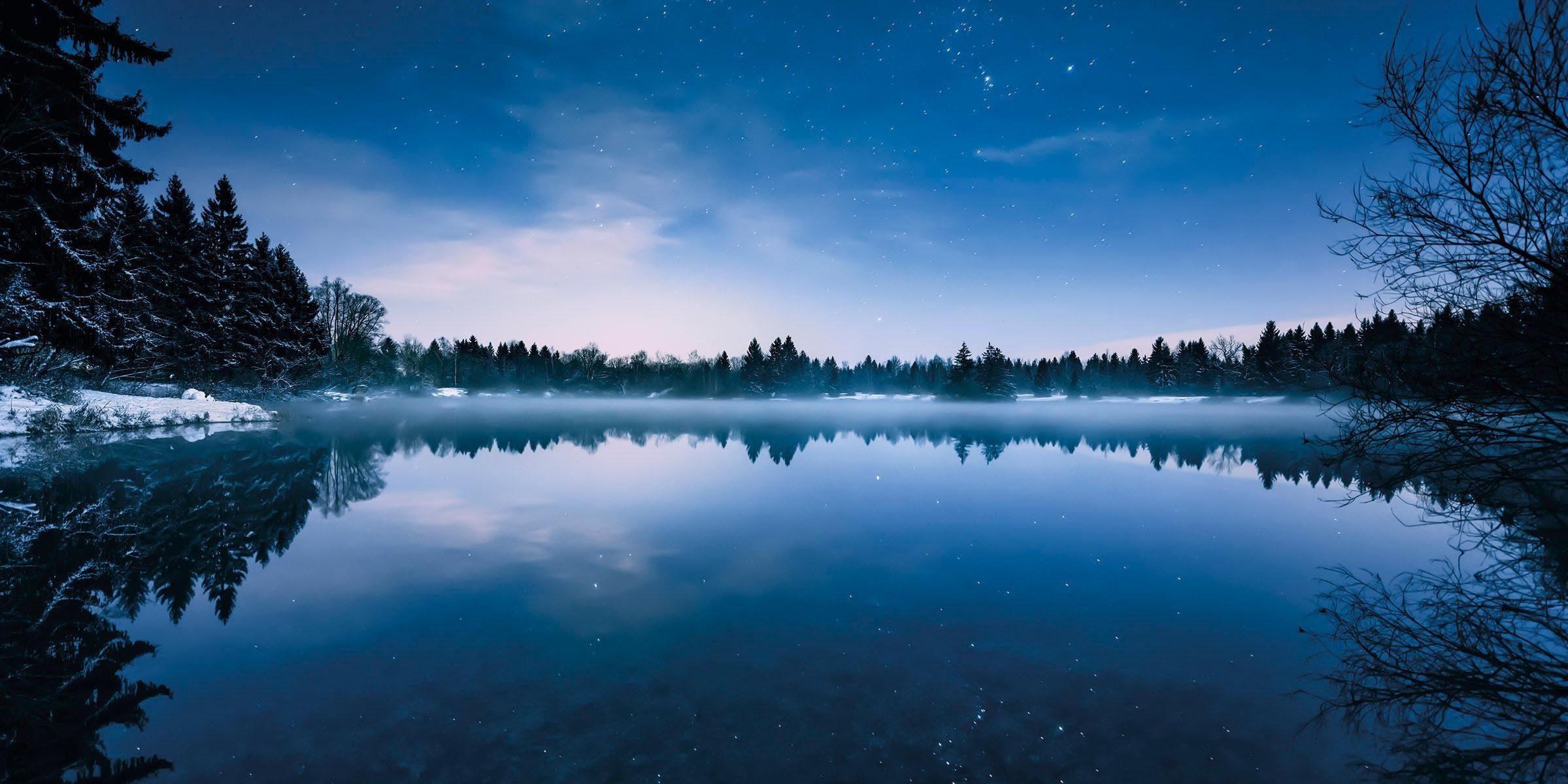 Komar Vlies Fototapete »Glistening stars« 200/100 cm