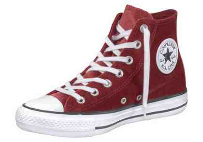 Converse »Chuck Taylor All Star Hi« Sneaker, Samt