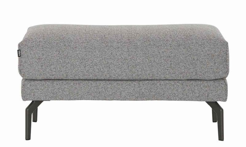 hülsta sofa Hockerbank »hs.450«, mit Metallfüßen