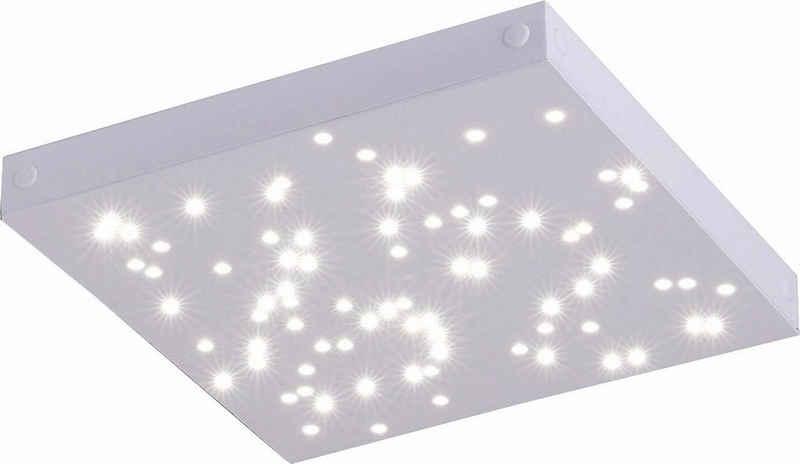 Paul Neuhaus Deckenleuchte »UNIVERSE«, SATELLITE-(Ergängungs-Panel zum MASTER), inklusive festverbauten LED-Leuchtmitteln, inklusive 60 cm Kabel zum Verbinden von weiteren Leuchten