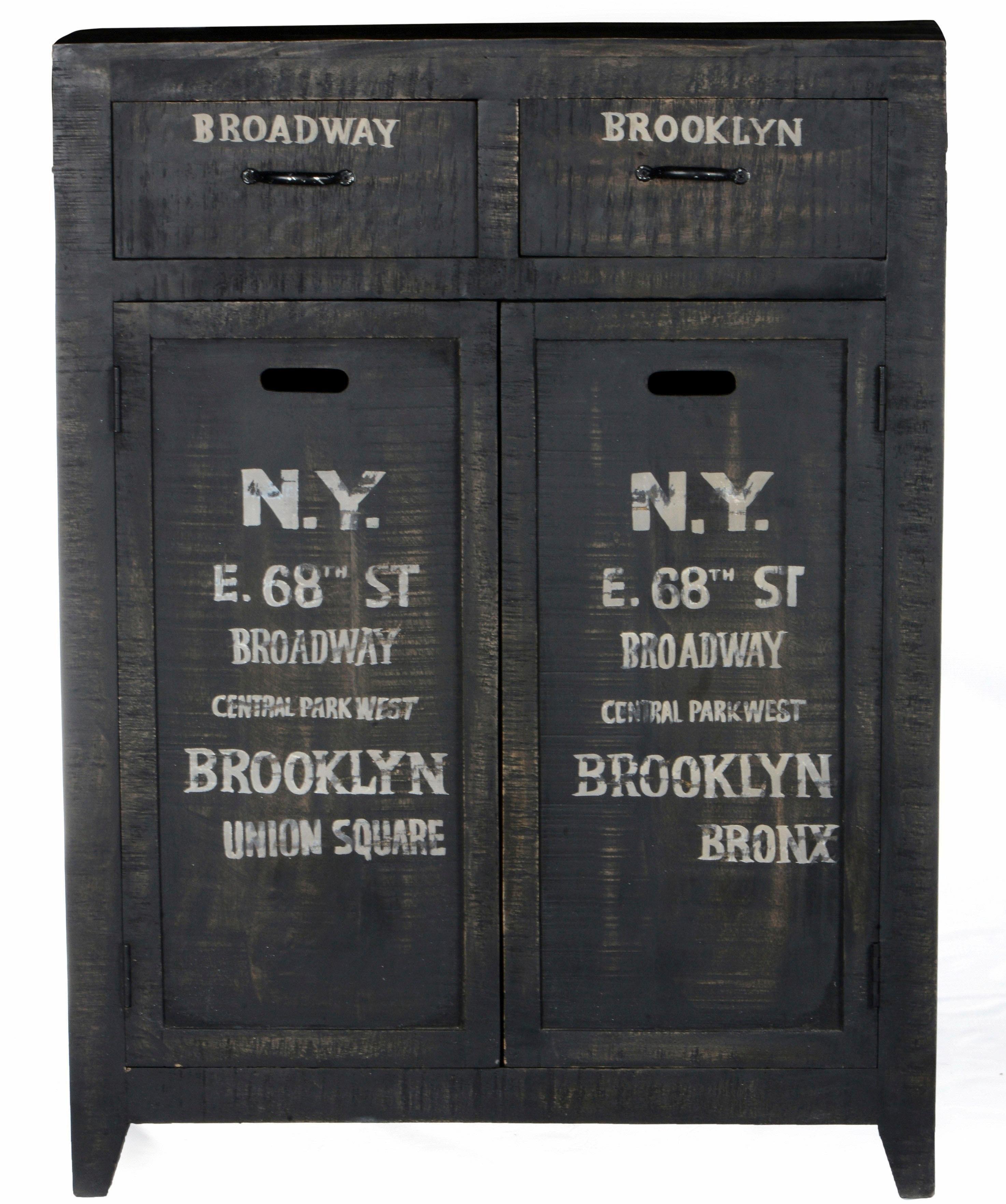 Home affaire Highboard »Bronx«, Breite 90 cm