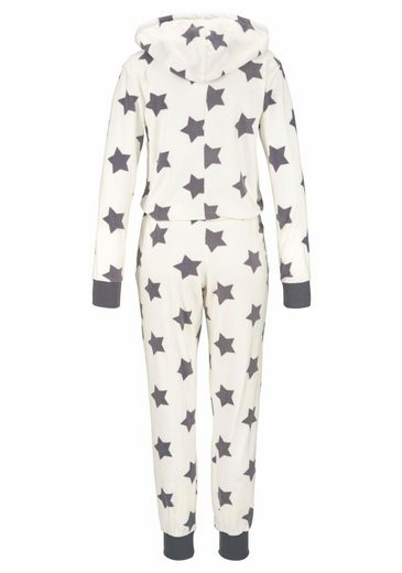 Vivance Dreams Heller Jumpsuit im Sternendesign