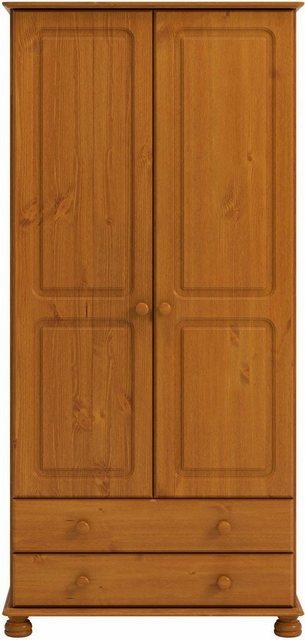 Kleiderschränke - Home affaire Kleiderschrank »Richmond« mit 2 Schubladen, Breite 88 cm  - Onlineshop OTTO