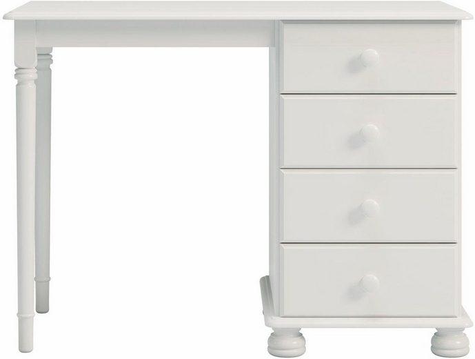 Home affaire Tisch »Richmond« mit 4 Schubladen, Breite 100 cm