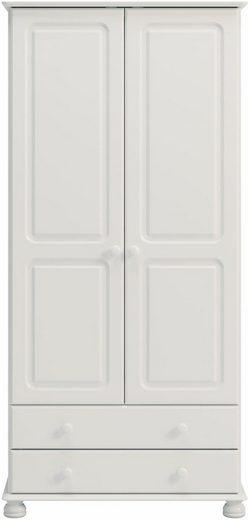Home affaire Kleiderschrank »Richmond« mit 2 Schubladen, Breite 88 cm