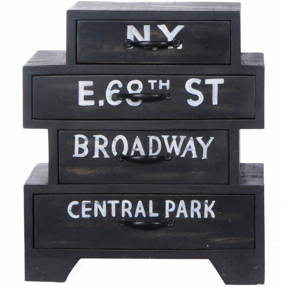 Sit Kommode Bronx Breite 50 Cm Mit Vier Schubladen Online Kaufen