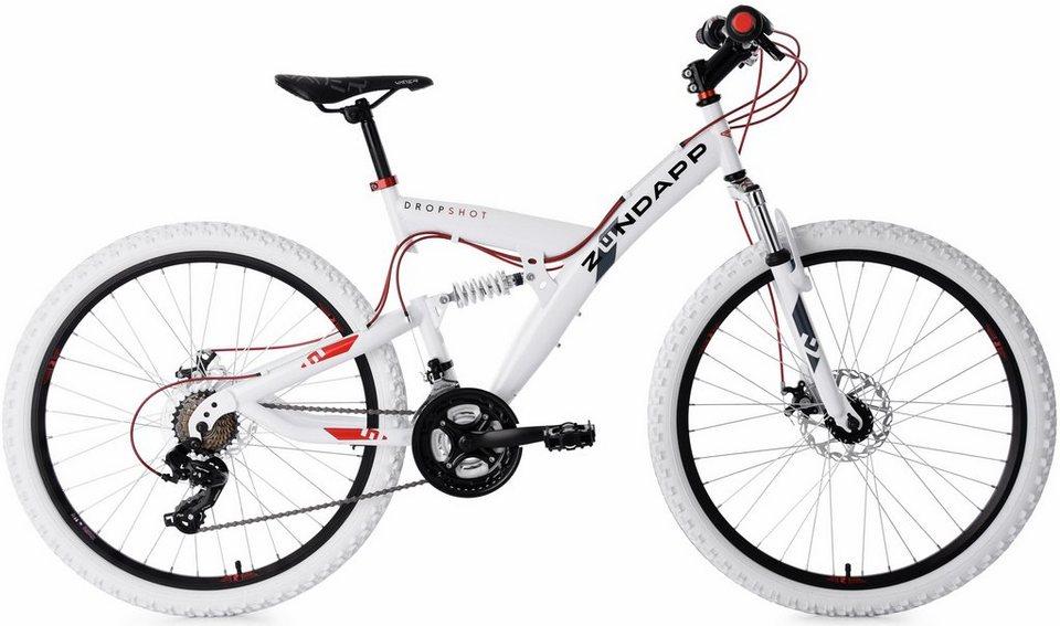 Zundapp Mountainbike Dropshot 21 Gang Shimano Tourney Schaltwerk Kettenschaltung Online Kaufen Otto