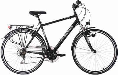 KS Cycling Trekkingrad »Montreal«, 21 Gang Shimano Tourney Schaltwerk, Kettenschaltung