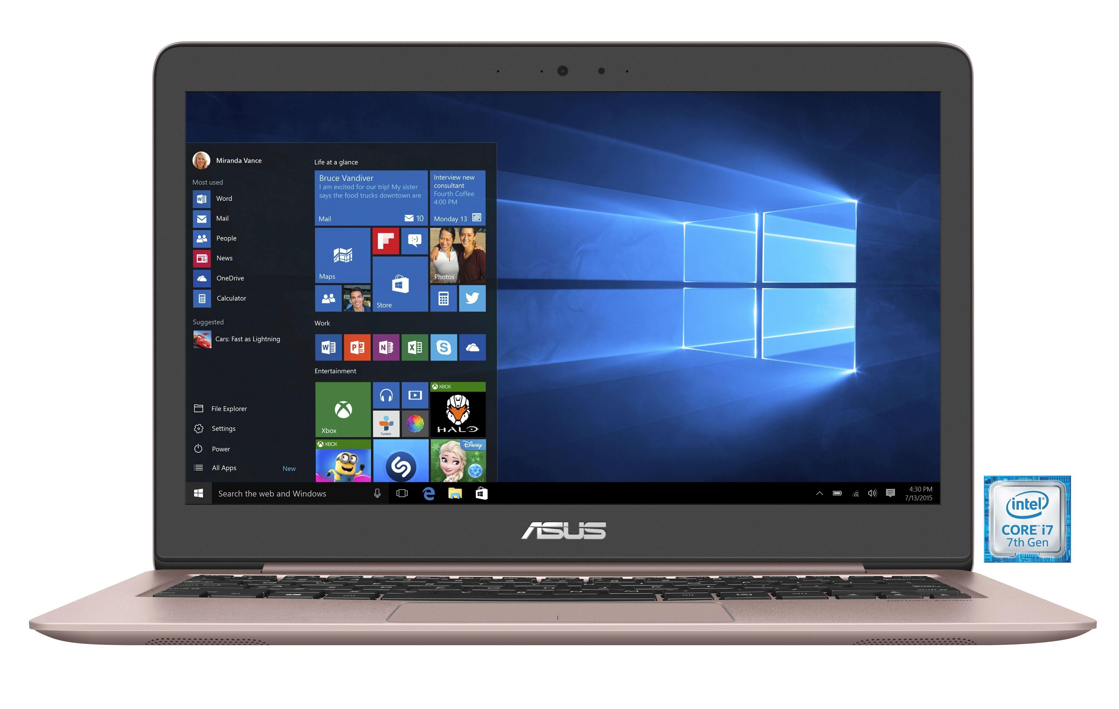 "ASUS UX310UA-FC342T Notebook »Intel Core i7, 33,7 cm (13,3""), 256 GB SSD, 8 GB«"