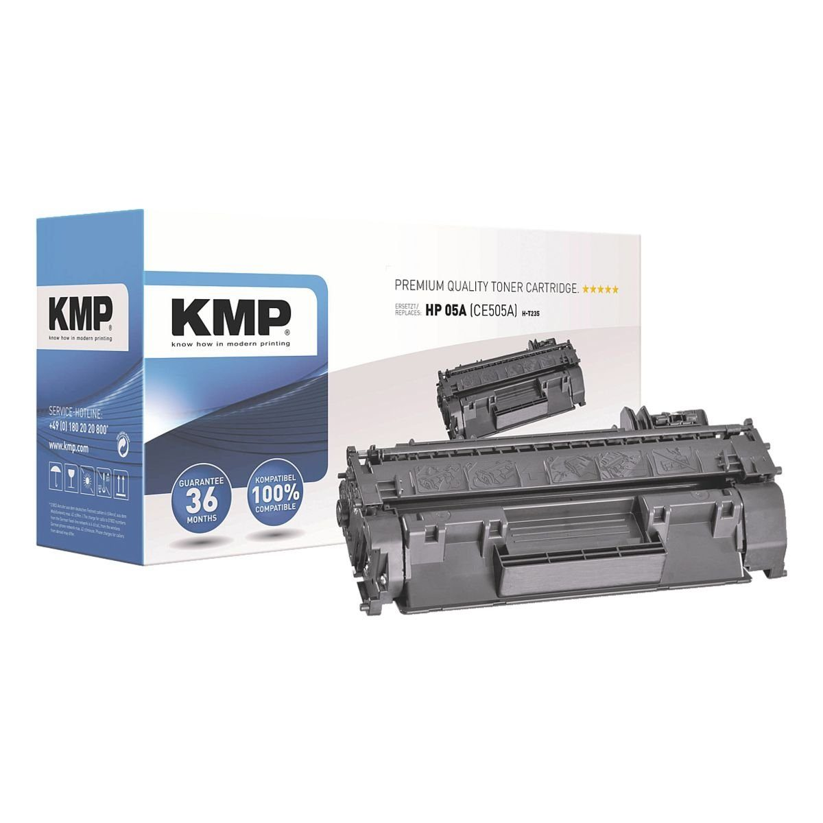 KMP Toner ersetzt HP »CE505A« 05A